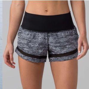 Lululemon Pace Perfect Shorts